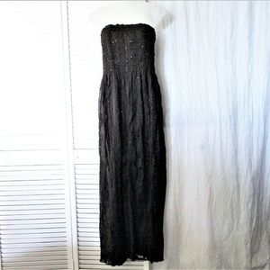 Romeo & Juliet Couture brown sequin tube dress